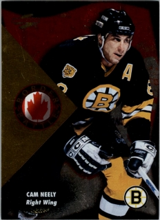 Hokejová karta Cam Neely Pinnacle Score 1995-96 Border Battle č. 3 of 15