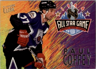 Hokejová karta Paul Coffey Fleer Ultra 1994-95 All Star Game č. 9 of 12
