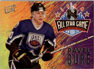 Hokejová karta Pavel Bure Fleer Ultra 1994-95 All Star Game č. 7 of 12