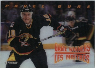 Hokejová karta Pavel Bure Pinnacle 1995-96 Game Winners 3D č. McD-08