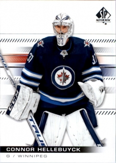 Hokejová Karta - Connor Hellebuyck SP Authentic 2019-20 řadová č.68
