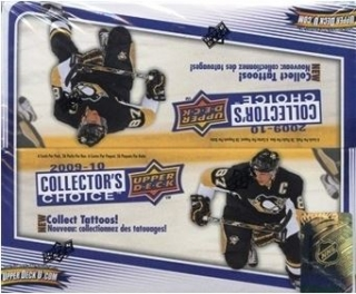 Box hokejových karet 2009-10 Collectors Choice Hobby Box