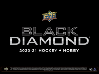 Box hokejových karet UD Black Diamond 2020-21 Hobby box
