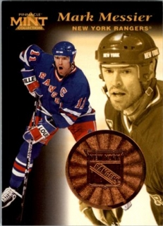 Hokejová karta Mark Messier Pinnacle Mint Collection 1996-97 č. 16 of 30