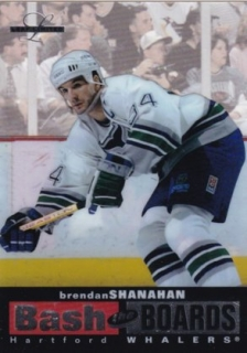 Hokejová karta Brendan Shanahan Leaf Limited 1996-97 BASH THE BOARDS