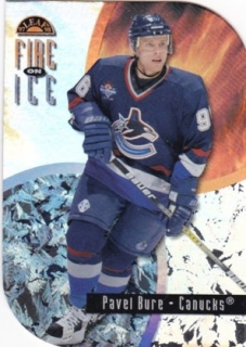 Hokejová karta Pavel Bure Leaf 1997-98 FIRE ON ICE