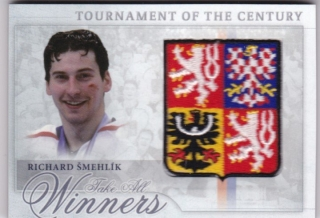 Hokejová karta Richard Šmehlík  Tournament Of The Century Logo Patch /12