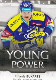 Hokejová karta Richards Bukarts OFS 17/18 S.I. Young Power