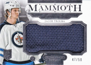 hokejová karta Jacob Trouba Panini Dominion 2013-14 Mamooth /50