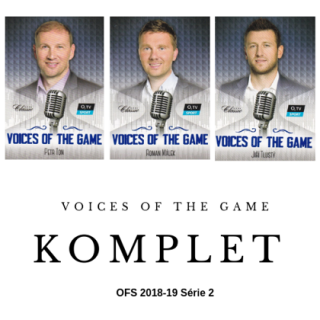 Voices Of The Game Komplet Set OFS 2018-19 Série 2