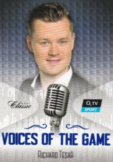 Hokejová karta Richard Tesař OFS 2018-19 Série 2 Voices Of The Game