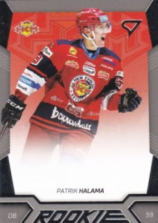 Patrik Halama Rookie Update Tipsport Liga 2018-19 Winter Classic RU4