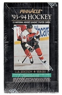 Box hokejových karet 1993-94 Pinnacle Hockey US Series 1 Box