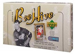 Box hokejových karet 2003-04 Upper Deck Beehive Hockey Hobby Box