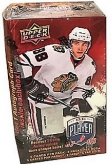 Box hokejových karet 2007-08 Be A Player Blaster Box