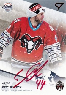 Eric Selleck Winter Classic Autograph Tipsport Liga 2018-19 W.C. 46/80