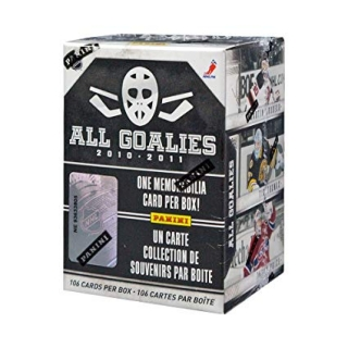 Box hokejových karet 2010-11 Panini All Goalies Hockey Hobby Box