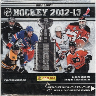 Box hokejových nálepek 2012-13 Panini NHL Hockey Stickers Box