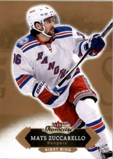 Hokejová karta Matts Zuccarello Fleer Showcase 16/17 Base č. 95