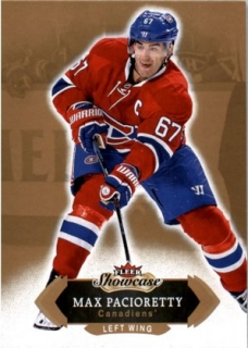 Hokejová karta Max Pacioretty Fleer Showcase 16/17 Base č. 30