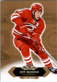 Hokejová karta Jeff Skinner Fleer Showcase 16/17 Base č. 54