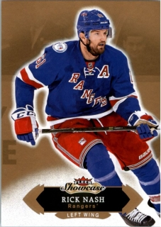 Hokejová karta Rick Nash Fleer Showcase 16/17 Base č. 10