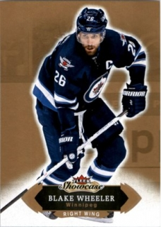 Hokejová karta Blake Wheeler Fleer Showcase 16/17 Base č. 96
