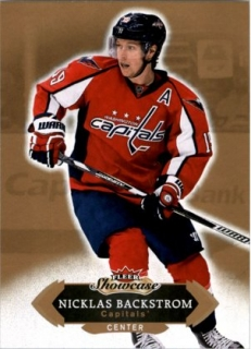 Hokejová karta Nicklas Backstrom Fleer Showcase 16/17 Base č. 79