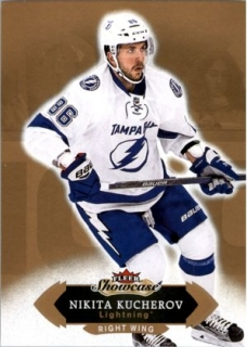 Hokejová karta Nikita Kucherov Fleer Showcase 16/17 Base č. 85