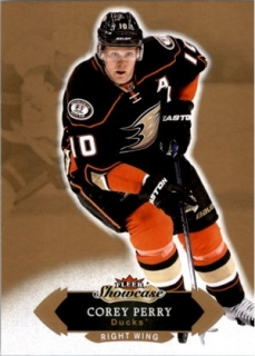 Hokejová karta Corey Perry Fleer Showcase 16/17 Base č. 65