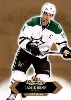 Hokejová karta Jamie Benn Fleer Showcase 16/17 Base č. 81