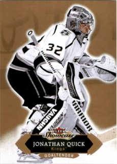 Hokejová karta Jonathan Quick Fleer Showcase 16/17 Base č. 31