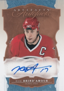 Hokejová karta Rod Brind´amour Upper Deck 2016-17 Artifacts Autograph A-RB