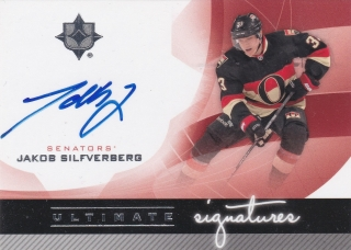 Hokejová karta Jakob Silfverberg UD 2012-13 Ultimate Collection Signature US-JS