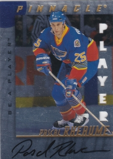 Hokejová karta Pascal Rheaume Pinnacle 1998-99 Be A Player Signature č. 227