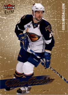 hokejová karta Colin Stuart Ultra Fleer 2008-09 Rookie Gold Medallion č. 250