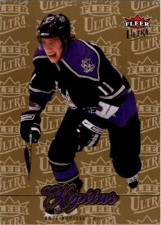 hokejová karta Anze Kopitar Ultra Fleer 2007-08 Gold Medallion č. 109