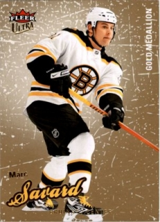 hokejová karta Marc Savard Ultra Fleer 2008-09 Gold Medallion č. 8