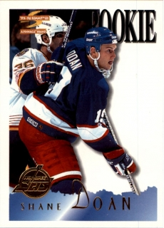 Hokejová karta Shane Doan Pinnacle Summit 1995-96 Rookie č. 188