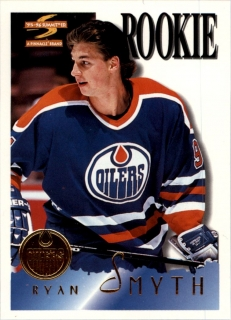 Hokejová karta Ryan Smyth Pinnacle Summit 1995-96 Rookie č. 176