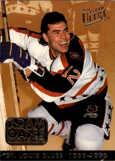 Hokejová karta Adam Oates Fleer Ultra 1993-94 Career Highlights č. 8