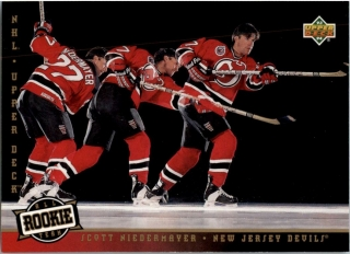 Hokejová karta Scott Niedermayer UD 1993-94 Rookie Team č. 284
