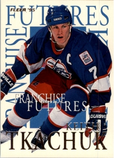 Hokejová karta Keith Tkachuk Fleer 1994-95 Franchise Future č. 8