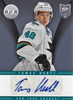 Hokejová karta Tomáš Hertl Totally Certified 13-14 Autograph (TR-THE)