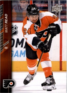 Hokejová karta Matt Read Upper Deck 2015-16 Series I. č. 141