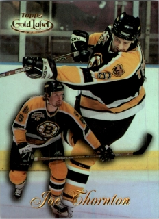 Hokejová karta Joe Thornton Topps 1999-00 Gold Label č. 81