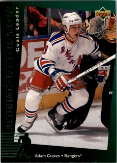 Hokejová karta Adam Graves Upper Deck 1994-95 Goals Leader č. R5