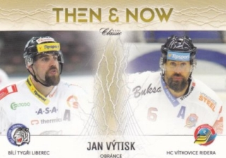 hokejová karta Jan Výtisk OFS 2016-17 s1 Then a Now