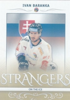 hokejová karta Ivan Baranka OFS 216-17 s1 Strangers on The Ice