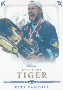 hokejová karta Petr Vampola OFS 2016-17 s1 Eye Of  The Tiger Gold